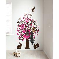kek-amsterdam-muursticker-boom-birdhouse-tree-pink-2