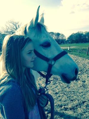 Paard en kind