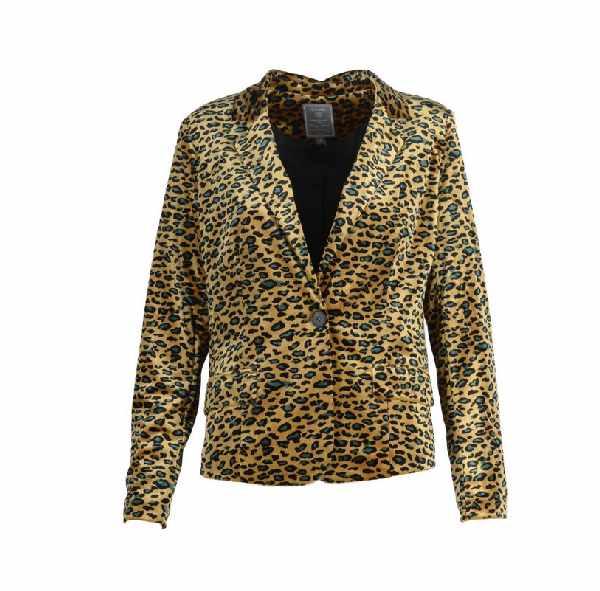 Blazer leopard print