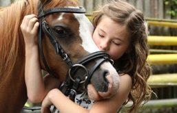 mijn kind gaat paardrijden