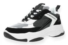 Zwart witte Calvin Klein sneaker