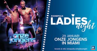 Ladies Night onze jongens