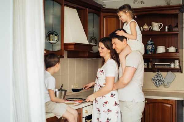 thuis met kinderen