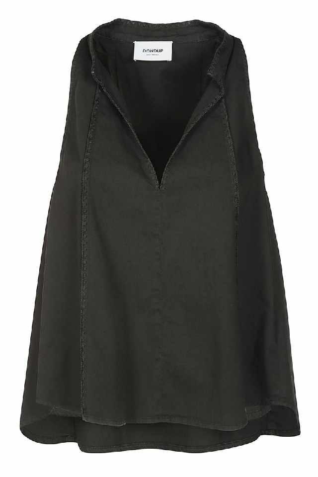 Dundop cape blouse zonder mouwen