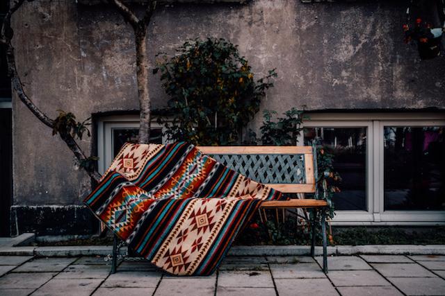 Handgemaakte Fair Trade kleden uit Ecuador