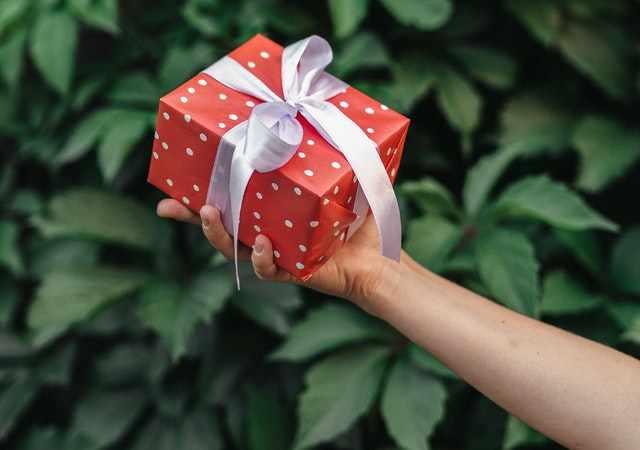 Cadeau per post sturen